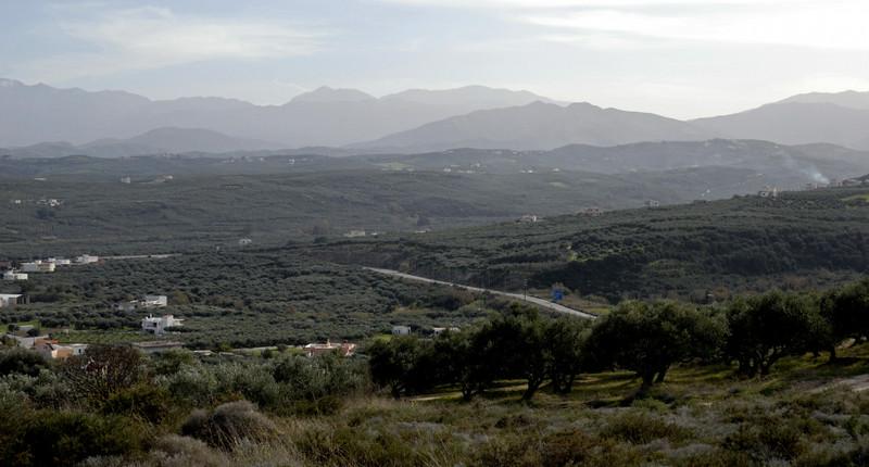 Looking east from west of Kolimbari, Crete, 26 December 2009 3