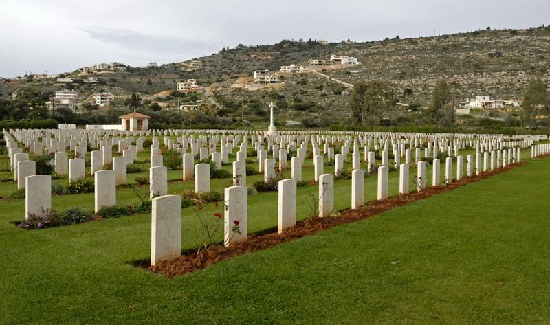 British Commonweath war cemetery, Suda Bay, Crete, 27 December 2009 4