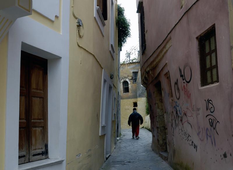 Alleyway, Chania, Crete, 29 December 2009 2
