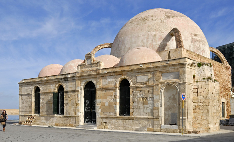 Mosque of Kioutsouk Hasan, Chania, Crete, 30 December 2009 2