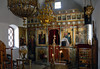 Church interior, Kisamos, Crete, 22 December 2009