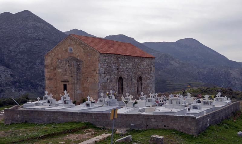 Church of 99 Saints, Polirinia, Crete, 3 December 2009