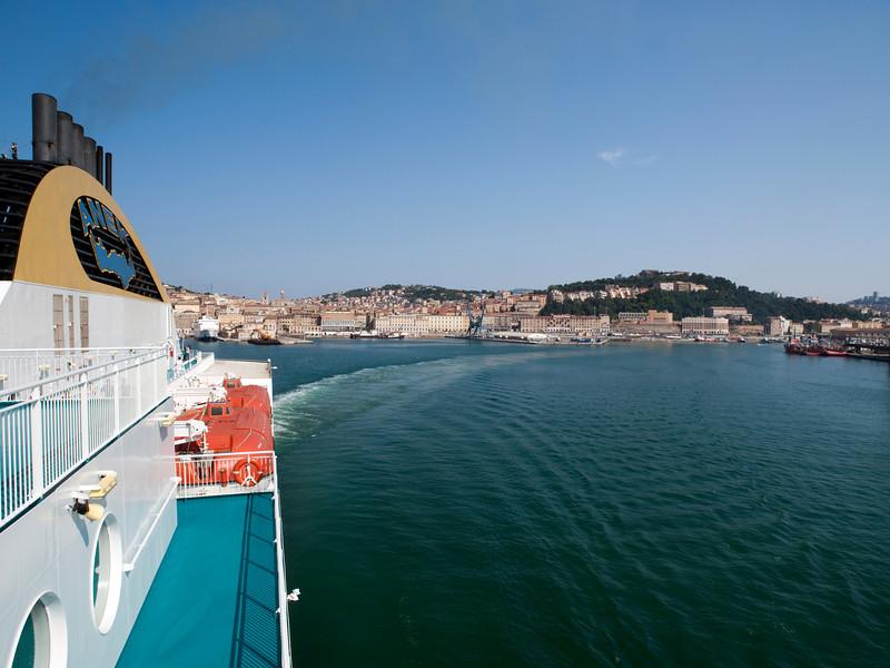 Departure, Ancona port, Marche, Italy<br /> <br /> E-420 & Zuiko 12-60/2.8-4.0