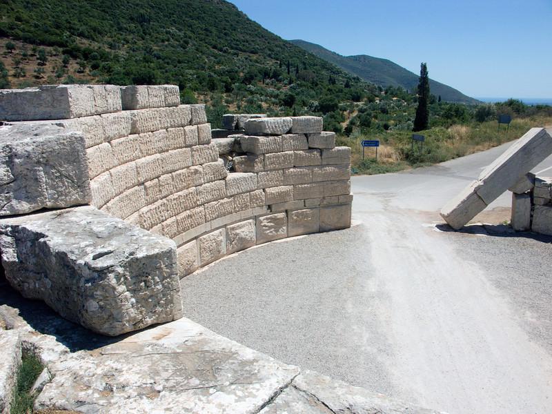 Arcadian Gate, ancient Messene, Peloponnese, Greece (2006)