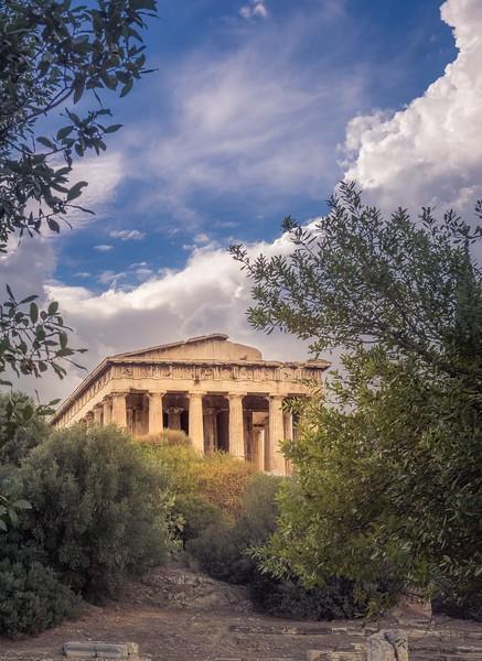 Hephaestus's Temple on Old Agora