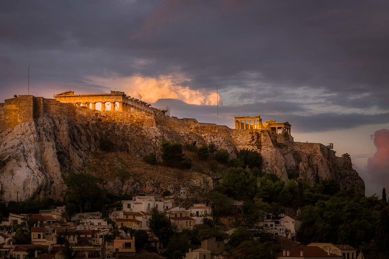 First Light on Acropolis