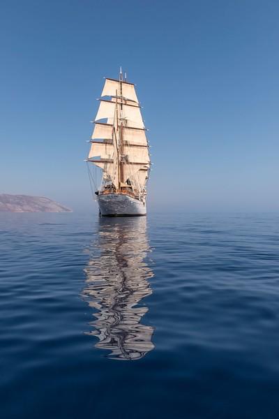 Fully Rigged Tall Ship