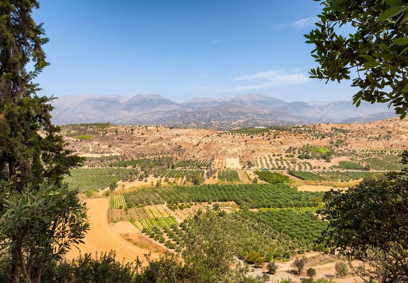 View from Phaestos Palace