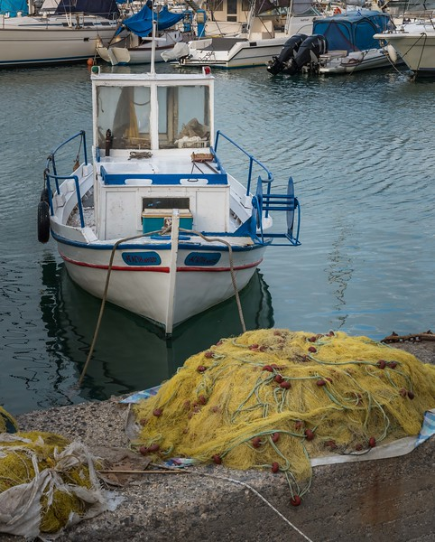 Fishing Boat and Net