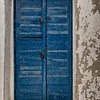 Old Blue Door and Locks