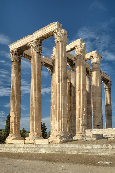 Columns of Zeus Temple