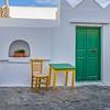 Green Door and Matching Furniture