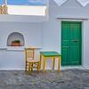 Green Door and Matching Furniture