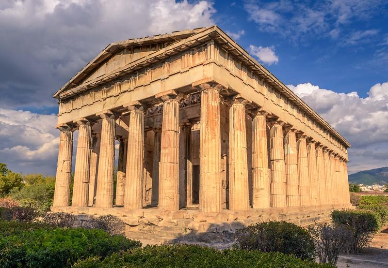 Portico of Hephaestus's Temple