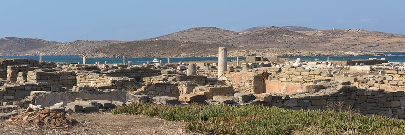 Panorama of Delos