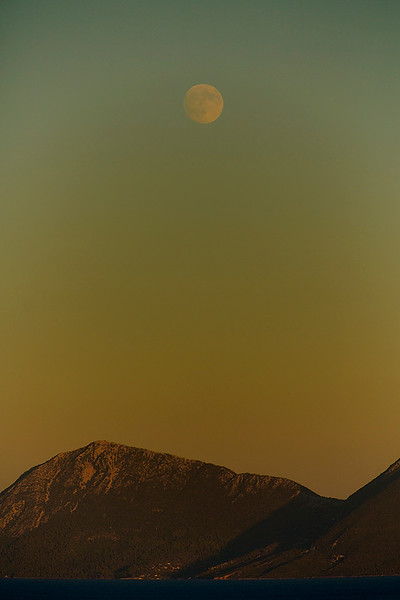 Moonrise at Nidri