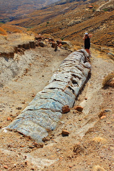 Petrified Forest, Lesvos, Greece.