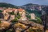 The monastery Moni Varlaam in the Meteora region of Greece.