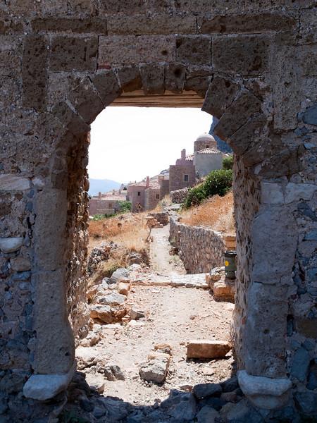 eastern gate, Monemvasia, Lakonia, Greece<br /> <br /> E-420 & Zuiko 12-60/2.8-4.0