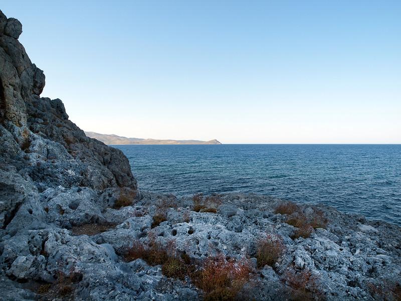 eastern tip of the Monemvasia rock, Lakonia, Greece<br /> <br /> E-600 & Zuiko 12-60/2.8-4.0