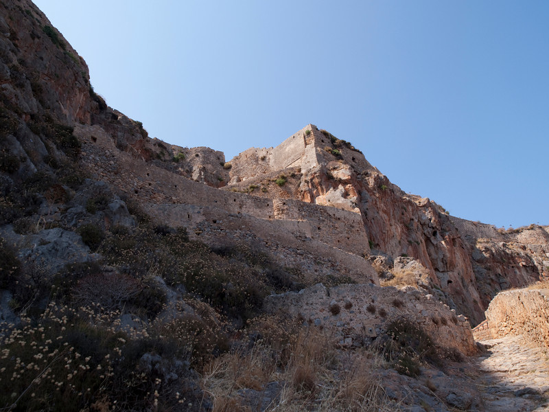 access route to the upper fortress<br /> Monemvasia, Lakonia, Greece<br /> <br /> E-420 & Zuiko 12-60/2.8-4.0