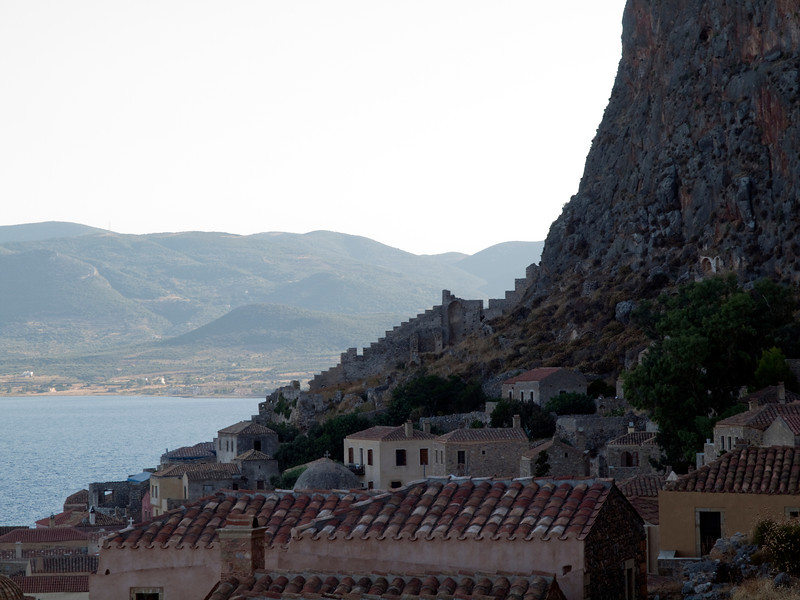 Monemvasia western wall, Lakonia, Greece<br /> <br /> E-600 & Zuiko 12-60/2.8-4.0