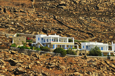 Mykonos residence on the hill