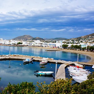 Paros - View from hotel