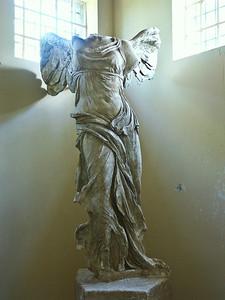 The Nike statue.