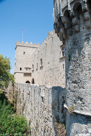 Rhodes Castle of the Grand Masters