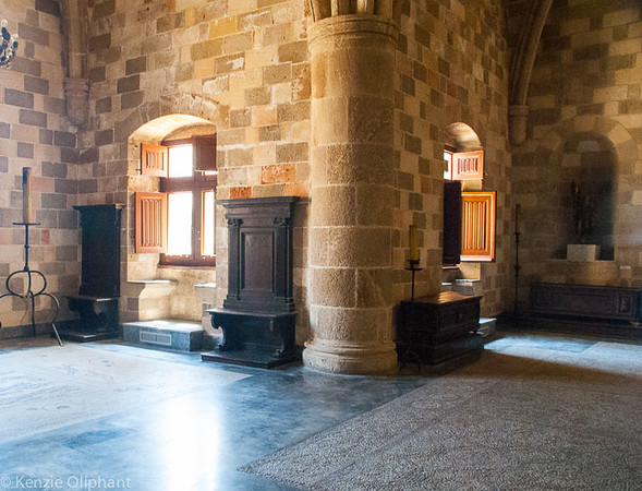Rhodes Castle of the Grand Masters interior