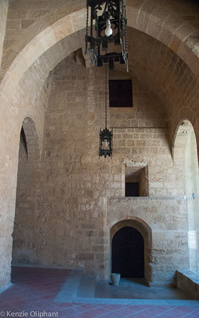 Rhodes Castle of the Grand Masters undercroft