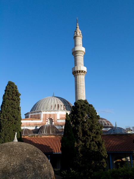 Rhodos oldtown, Suleiman Mosque