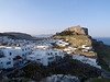 Lindos town and akropolis