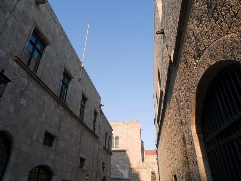 Rhodos oldtown, Ippoton Street, Street of the Knights