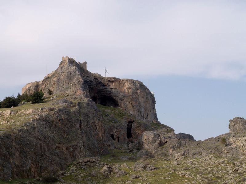 Lindos akropolis, southern side
