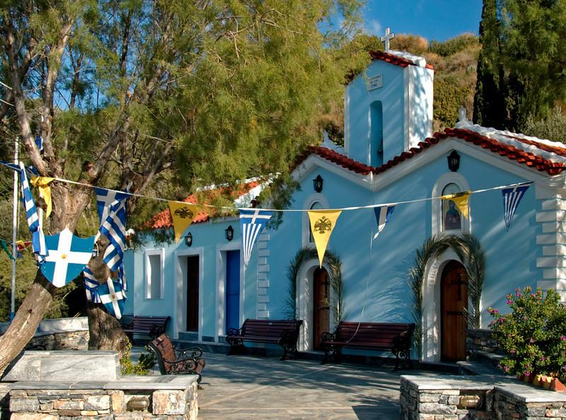 Church of Agia (Saint) Paraskevi, Samos, Greece, 29 December 2008