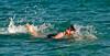 Seeing in 2009, Samos, Greece 2: A New Year's Day dip in the Aegean.  Brrrrrrrrrr!