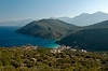 Looking east towards Kerveli and Turkey from east of Paleokastro, Samos, Greece, 1 January 2009