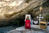 Underground chapel, Spillanis Monastery, Pythagorio, Samos, Greece, 31 December 2008 1: Entrance