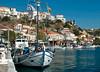 Pythagorio harbour, Samos, Greece, 31 December 2008 1