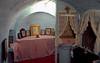 Underground chapel, Spillanis Monastery, Pythagorio, Samos, Greece, 31 December 2008 3
