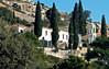 Last look at Spillanis Monastery, Pythagorio, Samos, Greece, 31 December 2008