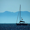 Sailing in Skiathos Bay
