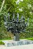 The Holocaust Memorial in Thessaloniki, Greece.