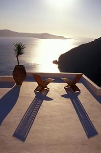 Fancy Terrace Cafe, Santorini