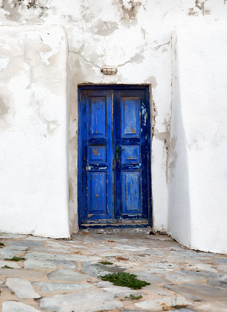 The Door to Mykonos