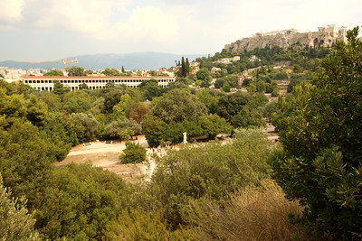 Stoa of Attalos, Ancient Agora of Athens, Acropolis of Athens, Athens, Greece