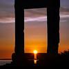 Temple of Apollo Sunset on Naxos
