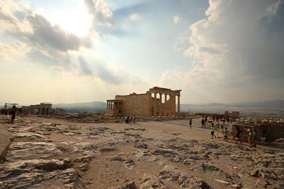 Old Temple of Athena, Acropolis of Athens, Athens, Greece